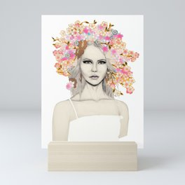 Flower Crown Mini Art Print