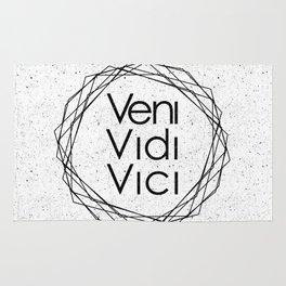 I Came I Saw I Conquered Veni Vidi Vici Rug