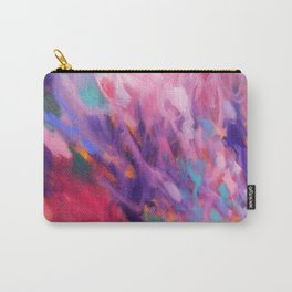 Pink Amethyst Carry-All Pouch