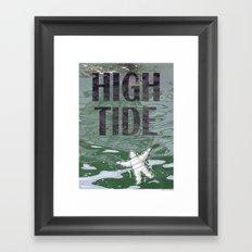 HIGH TIDE 02 Framed Art Print