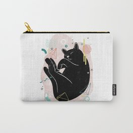 Dreaming kitten illustration Carry-All Pouch