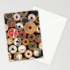 Vintage Sewing Thread Spools Stationery Cards