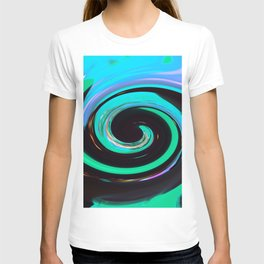 Swirling colors 02 T-shirt