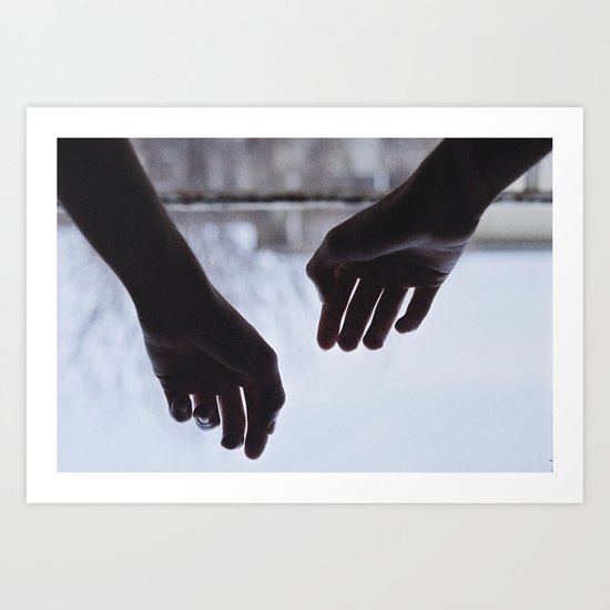 Your morning touch Art Print