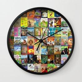 Children's Books Wall Clock
