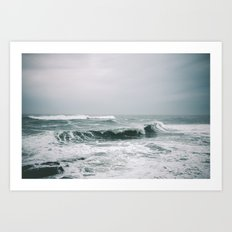 Waves III Art Print