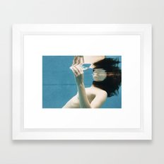 Surface Framed Art Print