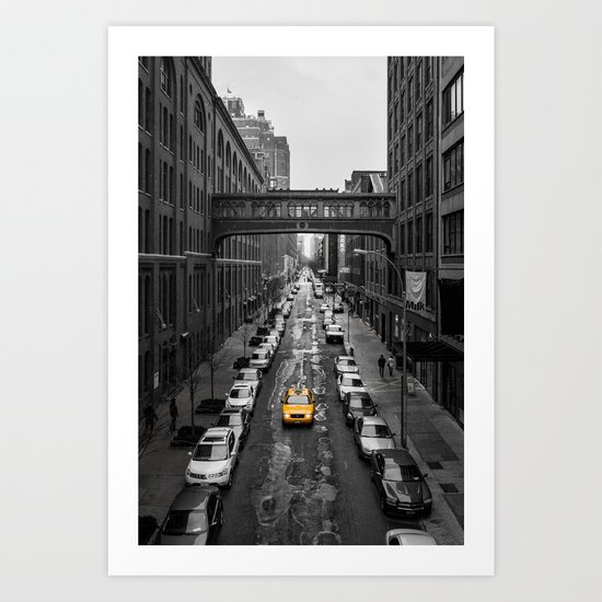 Iconic New York Cab Art Print