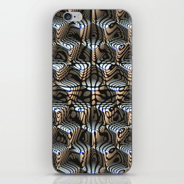 Abstract Cubes iPhone Skin