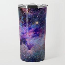 Purple Galaxy Travel Mug