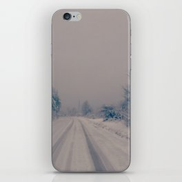 Winter Road iPhone Skin
