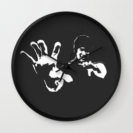 hand palm Wall Clock