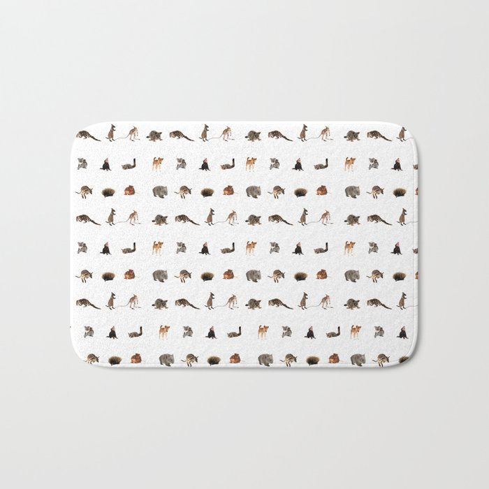 Australian wildlife Bath Mat