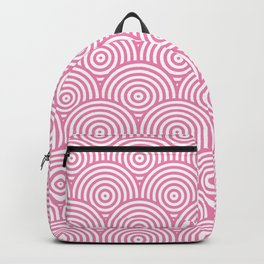 Scales - Pink & White #234 Backpack