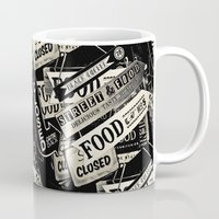 food Mugs featuring FOOD by Vivian Fortunato