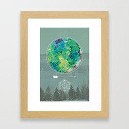 Whimper Framed Art Print