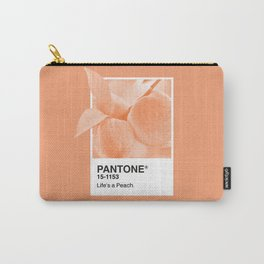 Pantone Series – Peach #2 Carry-All Pouch