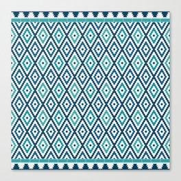 Mosaic patterns Canvas Print