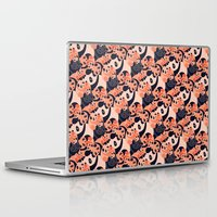 pandas Laptop & iPad Skins featuring Somos Pandas by Pamku