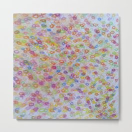 fresh bubbles Metal Print