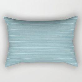 Island Paradise Blue Weathered Whitewash Wooden Beach House Rectangular Pillow