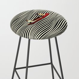 Illusionary Boat Ride Bar Stool