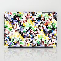 confetti iPad Cases featuring Confetti  by Glanoramay