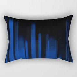 Blue Streak Rectangular Pillow