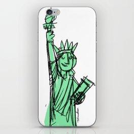 Liberty Statue iPhone Skin
