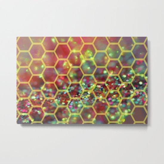 Honeybee Metal Print