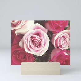 Roses are Love Mini Art Print