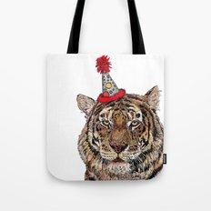 Tiger Party Tote Bag