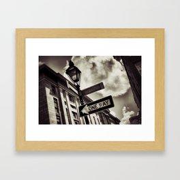 {one day} Framed Art Print
