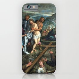 Preparation for the Crucifixion iPhone Case