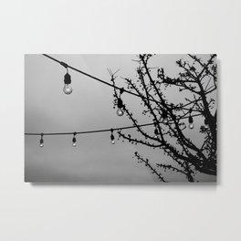 Winter Patio Metal Print