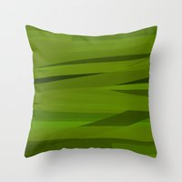 camo Throw Pillows featuring Camo by Max Jones
