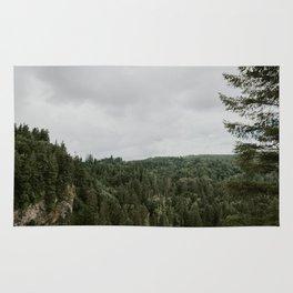 Tree Tops - Washington State Rug