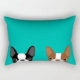 Boston Terriers Rectangular Pillow
