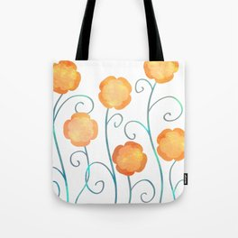 Silly Poppies Tote Bag