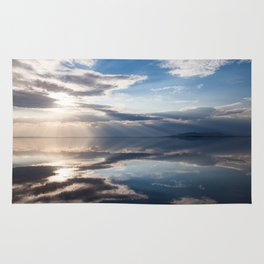 Sunset reflections Rug