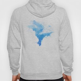 Summerscape - summer clouds and blue sky Hoody