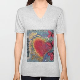 Beautifully Imperfect Unisex V-Neck