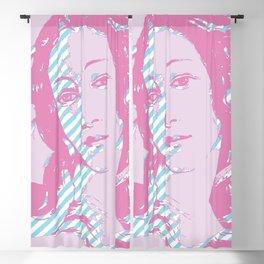 Rebirth of Venus - Pink & Cyan - Trans Pride! Blackout Curtain
