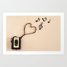 Photography makes my heart sing Art Print