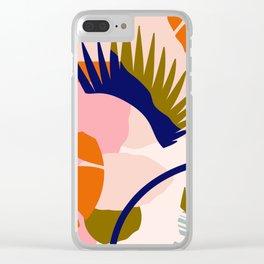 Tropical island II Clear iPhone Case
