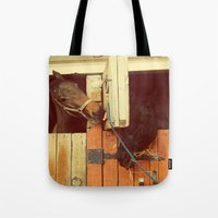 breakfast Tote Bags featuring Breakfast by Armine Nersisian