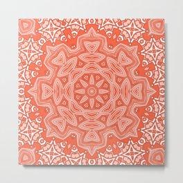 Ornament snowflake  2 Metal Print