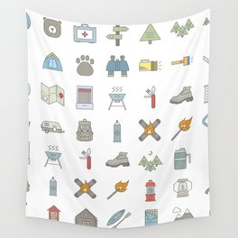 Camp Out Wall Tapestry
