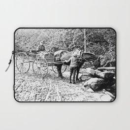 Vintage Adirondacks: The Roadside Watering Trough Laptop Sleeve