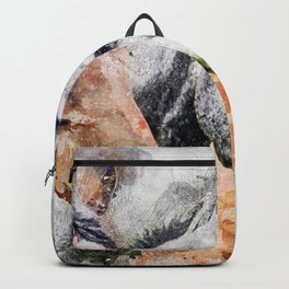 Horses Horse Head Animals Backpack
